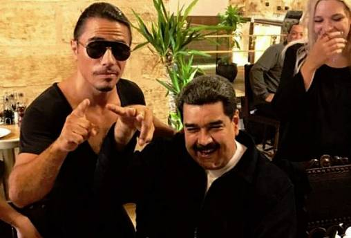 Venezuelans outraged by Maduro's steak feast at Salt Bae restaurant