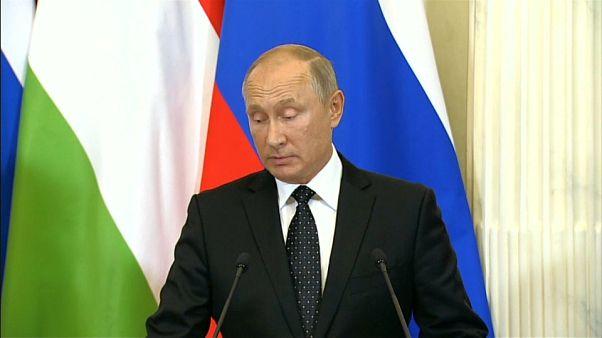 Putin'den gerilimi düşüren açıklama: Uçağın vurulması tesadüfi olaylar zinciri