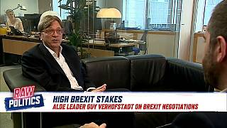Raw Politics: Verhofstadt looking on the bright side of Brexit and reformism in the EU