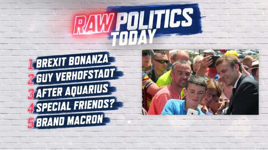 Raw Politics: Brexit bonanza, head-to-head with Verhofstadt and life after Aquarius