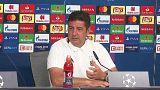"""Rui Vitória pede """"arrogância"""" ao Benfica para travar o Bayern"""