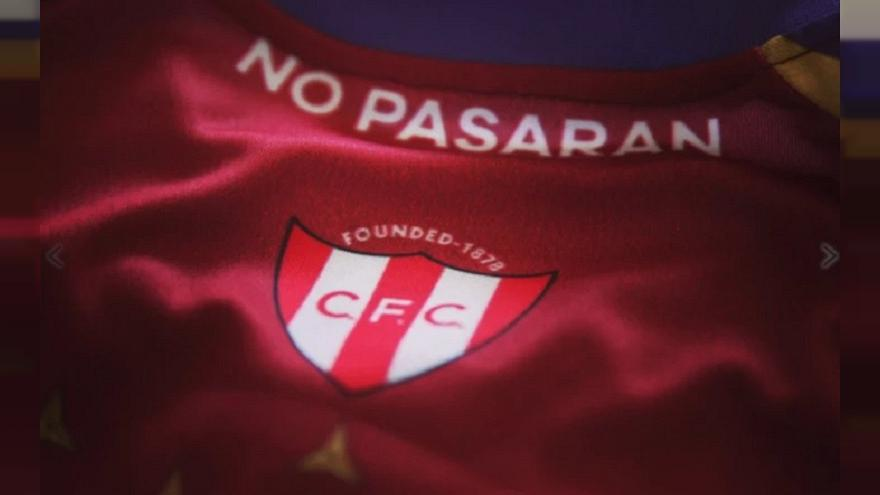 London football team kit — with anti-fascist symbols — sells out after Spanish interest