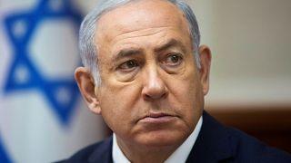 رئيس الوزراء الإسرائيلي بنيامين نتنياهو في القدس يوم 16 سبتمبر أيلول 2018