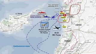 Syrien schießt russisches Flugzeug ab