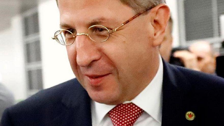 مدير جهاز الأمن الداخلي الألماني هانس -جيورج ماسن في برلين