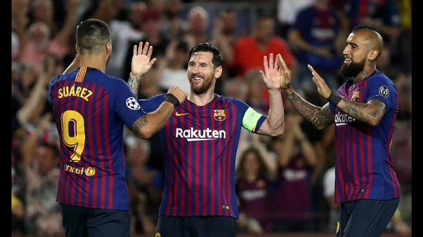 Лига чемпионов: хет-трик Месси и поражение ПСЖ