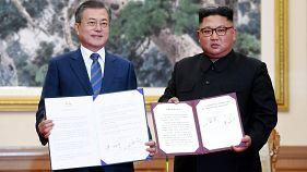 Kim promete desmantelar su principal central nuclear y visitar Seúl