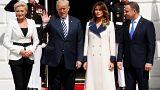 Donald Trump accueille Andrzej Duda à la Maison Blanche