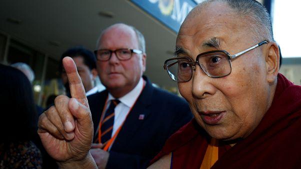 Lob vom Dalai Lama für Kanzlerin Merkel