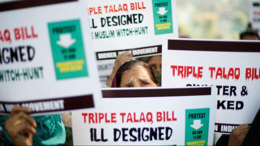 Muslim women India triple talaq