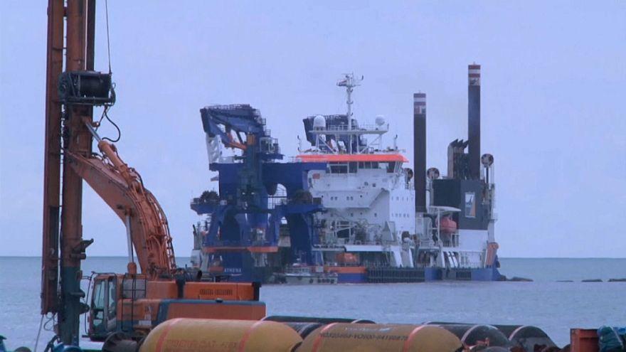 Georgien: Bau des ersten Tiefseehafens beginnt