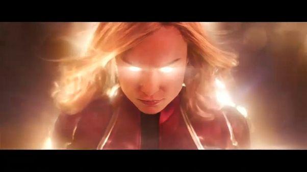 """Primer tráiler de """"Capitana Marvel"""""""