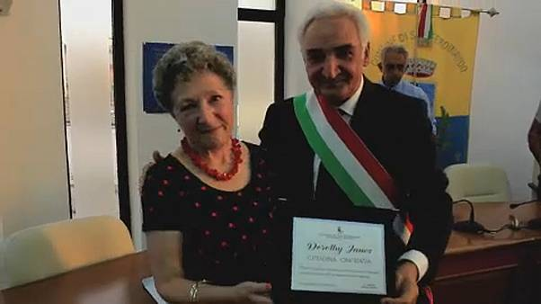 British woman honoured by the Italian city of her POW father
