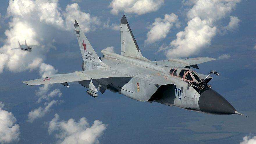 سقوط یک میگ روسیه در شرق مسکو