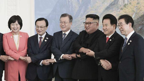 О чем договорились лидеры двух Корей?