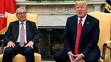 """ترامب يصف رئيس المفوضية الأوروبية بالـ""""كعكة القاسية"""""""