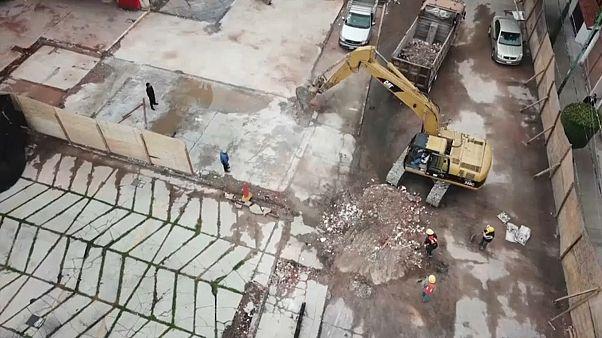 Mexiko: Ein Jahr nach dem Beben sind viele Wunden noch offen