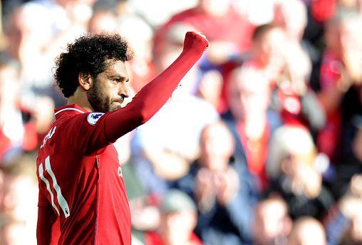 لاعب المنتخب المصري ونجم ليفربول الإنجليزي، محمد صلاح