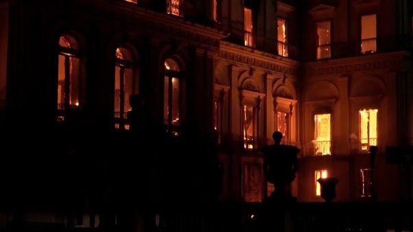 Llevará años recuperar el museo brasileño quemado