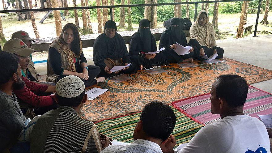Arakanlı Müslümanlara Bangladeş'te 'hayat suyu'
