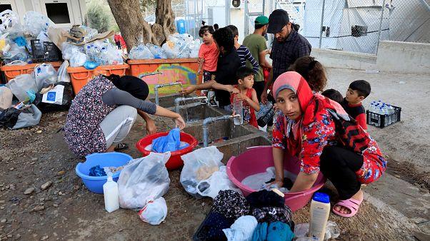Járványok, kosz, kevés étel- ez Moria, Európa egyik legnagyobb menekülttábora