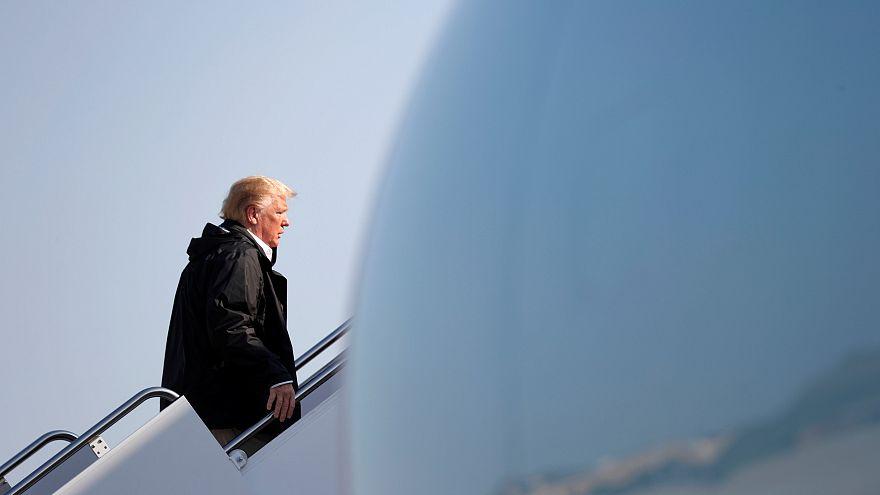تهديد بوجود متفجرات في مطار ماريلاند قبيل وصول ترامب