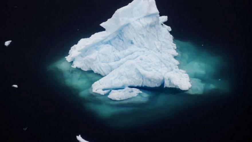 Watch: Massive chunk of ice breaks from Greenland glacier