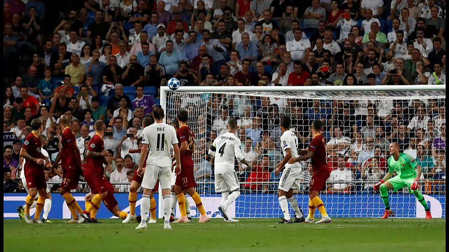 Champions League: perde la Roma, vince la Juve, espulso Ronaldo