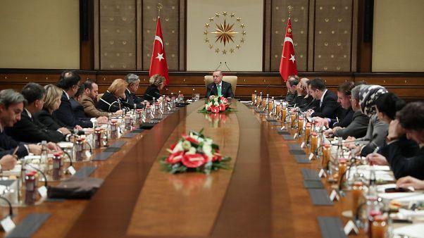 Erdoğan: ABD ile olan stratejik iş birliğimizin güçleneceğine inanıyorum
