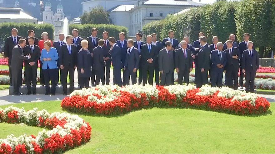 قادة الاتحاد الأوروبي في النمسا للنقاش حول بريكست والهجرة