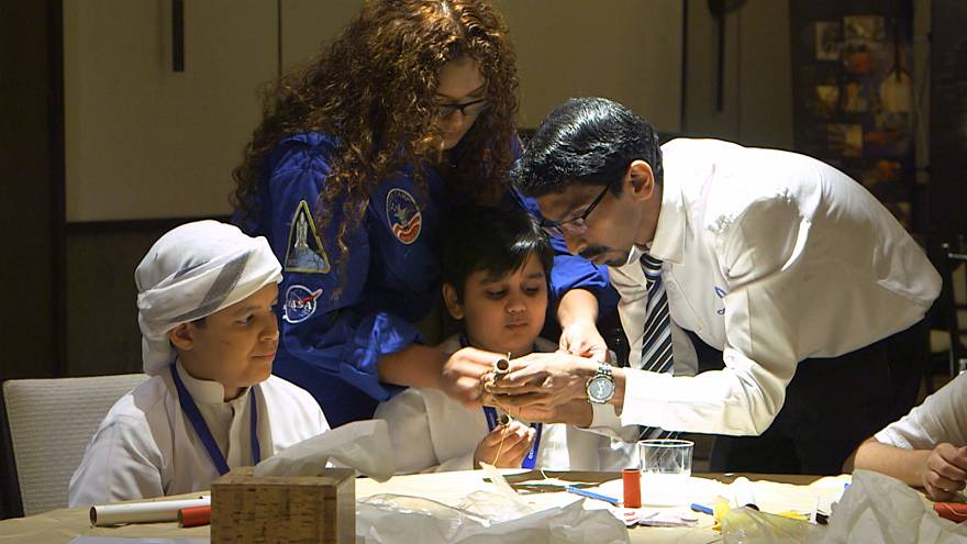 The UAE launches its first NASA space camp for young scientists