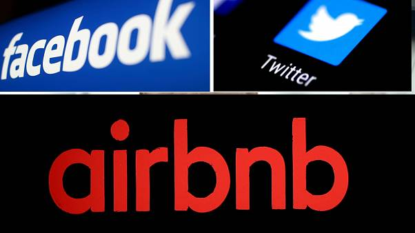 رموز تويتر وفيسبوك وأيربنب