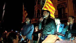 Un año del estallido independentista en Cataluña 20-S