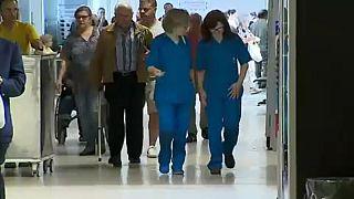 El 75% de los enfermeros lusos, en huelga