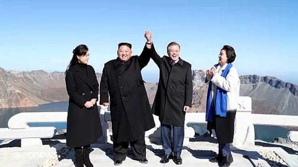 A két Korea vezetőjének találkozója