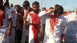 Blutiges Trauerritual: Schiiten begehen Aschura