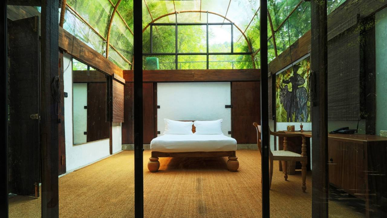 The arty hideaway in the jungle you can stay at