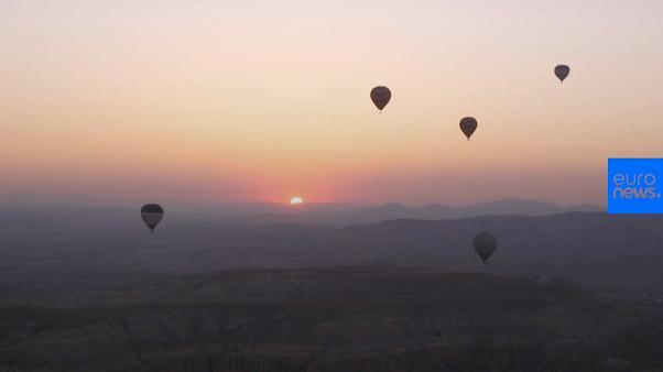 Going up in the world: hot air ballooning boost for Turkey's Kappadokia