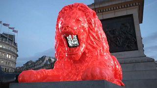 A garra do leão revivida Londres