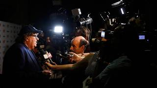 "Moore visa Trump em ""Fahrenheit 11/9"""