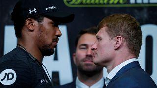 Boxe : deux champions olympiques veulent les ceintures poids lourds
