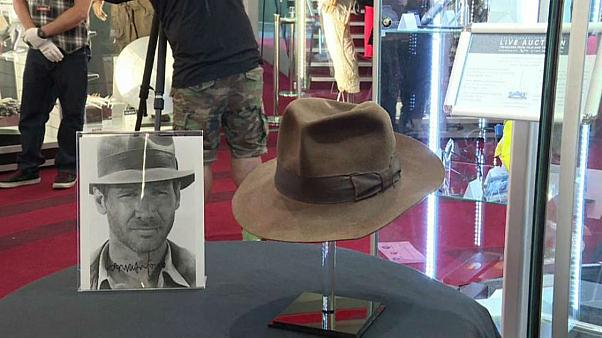 Indiana Jones' hat and Han Solo's jacket go under the hammer at London auction
