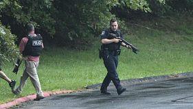 Gunwoman kills three at distribution centre in Maryland state