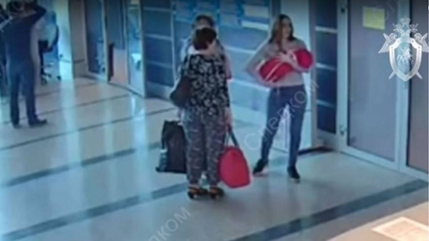 Woman 'gives away' newborn baby at Russian airport