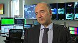 La mise en garde de Moscovici à l'Italie