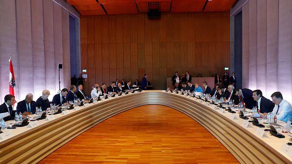 قادة دول الاتحاد الأوروبي خلال قمة سالزبورغ بالنمسا