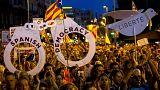 Tausende Katalanen fordern Freilassung von Separatisten