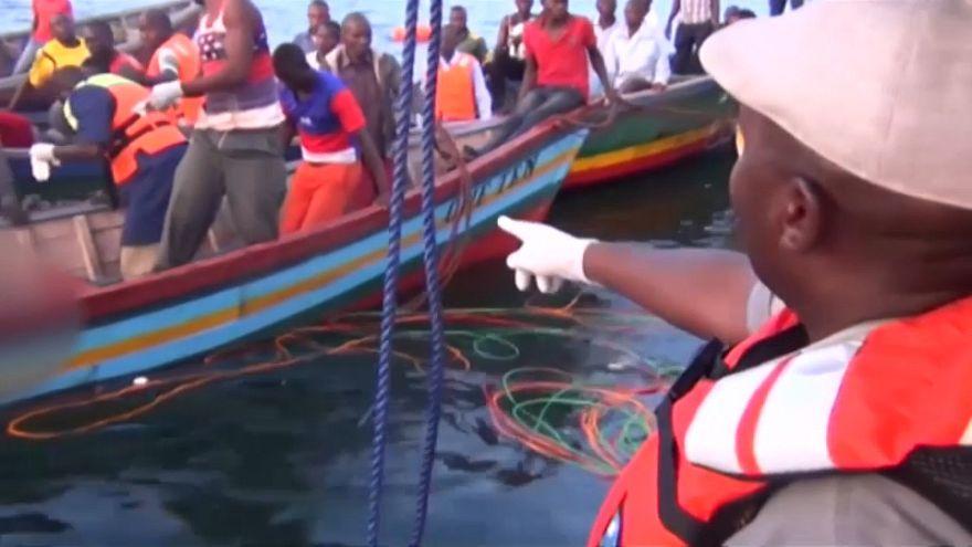Naufrage d'un ferry en Tanzanie : au moins 126 morts