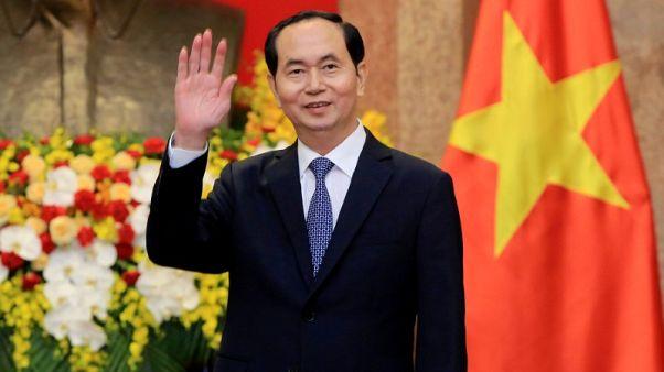 وفاة الرئيس الفيتنامي في مستشفى عسكري عن 62 عاماً
