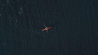 She would row single-handed across the Atlantic Ocean